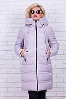Куртка женская зимняя  батал Hailuozi №1778