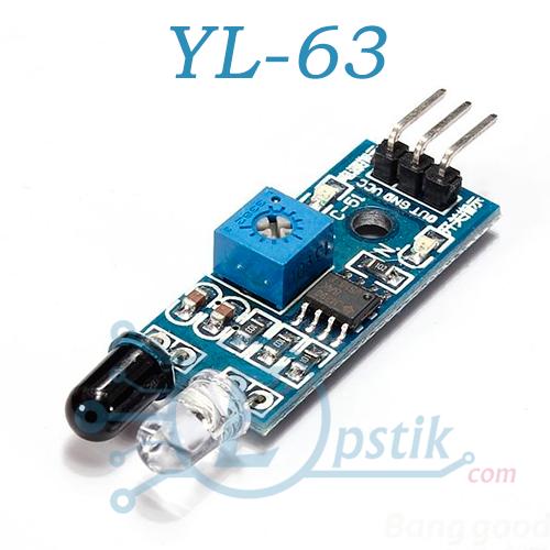 YL-63, инфракрасный датчик приближения
