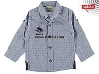 Рубашка для мальчика на 1, 2, 3, 4 года. Детская одежда оптом из Турции.