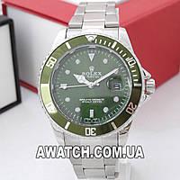 Унисекс кварцевые наручные часы Rolex Submariner Quarts 2128