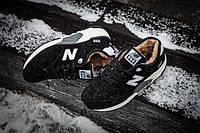 Мужские кроссовки зимние с мехом New Balance 999 Winter Black