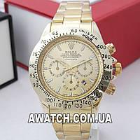 Унисекс кварцевые наручные часы Rolex Daytona Date 2202