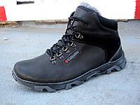 Мужские кожаные зимние ботинки большие размеры Columbia 46-50 р-р