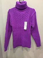 Теплый свитер для девочки подростка