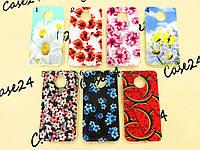 TPU чехол Print для Motorola Moto E4 Plus цветы
