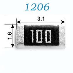 Резисторы SMD 1206