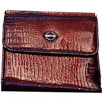 Женские портмоне под кожу 12*9 (КАШТАН)