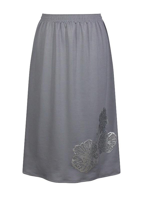 Короткая трикотажная юбка Маки