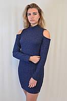 Модное красивое трикотажное платье Турция