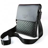 Мужская сумка через плечо Polo Videng Paris. Оригинал
