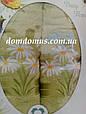 """Подарунковий набір рушників """"Ромашка"""" (банне+лицьове) TWO DOLPHINS, Туреччина оливковий, фото 2"""