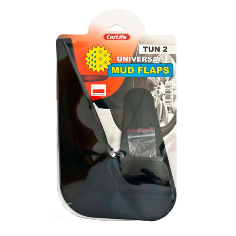 Брызговики универсальные CarLife Mud Flaps №2 (TUN2)