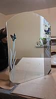 Зеркала для ванной с полками