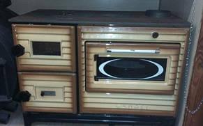 Печь EК-5014 Duval SUREL дровяная с духовым шкафом, фото 2