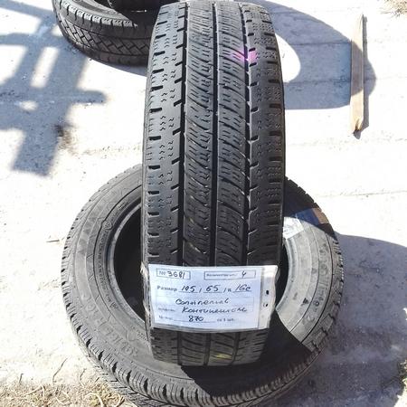 Бусовские шины б.у. / резина бу 195.65.r16с Continental Vanco Winter2 Континенталь