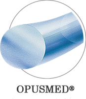 Поліпропілен моно синій USP (EP): 1(4), 0,75м, ріжуча голка, OPUSMED® Полипропилен, аналог Пролен, Суржипро, Премилен, Мопилен