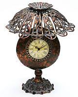 Часы форме лампы с абажуром 36 см