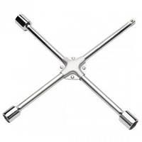 """Ключ баллонный крестовой 17,19,21mm & 1/2"""" усиленный Toptul AEAL1616 (Тайвань)"""