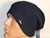 Вязаная шапочка-ранетка на флисе. 54-58. Сзади пряжка. Узкая резинка.