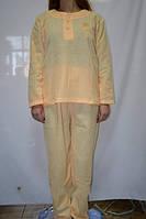Пижама женская зимняя голубая размер XXXL (52-54)