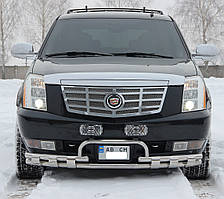 Кенгурятник на Cadillac Escalade (2007-2014) Кадилак Ескалейд PRS