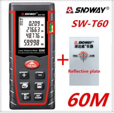 Дальномер  60м Sndway SW-T60 с лазерным прицелом