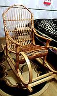 Кресло плетеное большое