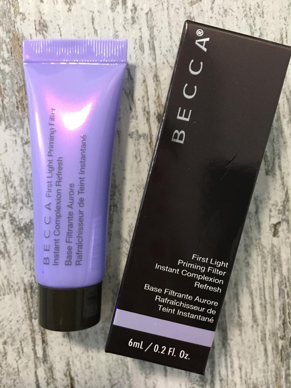 Освежающий праймер на минералах BECCA First Light Priming Filter