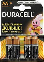 Батарейка Duracell AA LR06 (пальчик) 4/80/960шт