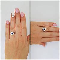 """Серебряное кольцо с альпинитом """"572"""""""