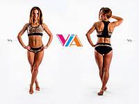 Топ и шорты VIA Pole  для занятий pole dance, фитнесом и в тренажерном зале