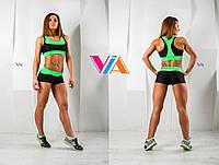 Топ и шорты VIA Strong для занятий pole dance и фитнесом