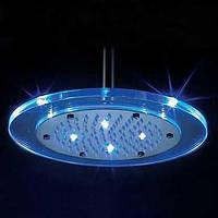 Современный Дождевая лейка Хром Особенность for  Светодиодная лампа Дождевая лейка , Душевая головка 00152501