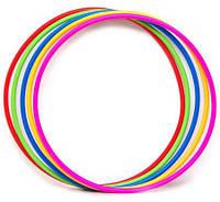 Детский гимнастический обруч пластик (диам. 55см)