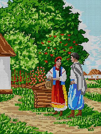 """Схема для вышивки бисером """"Украинский пейзаж"""", фото 2"""