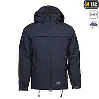 Тактична куртка SOFT SHELL POLICE NAVY BLUE