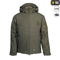 Тактична куртка з флісовою підстьожкою SOFT SHELL OLIVE