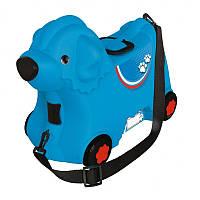 Чемодан детский на колесах Big 55352 синий