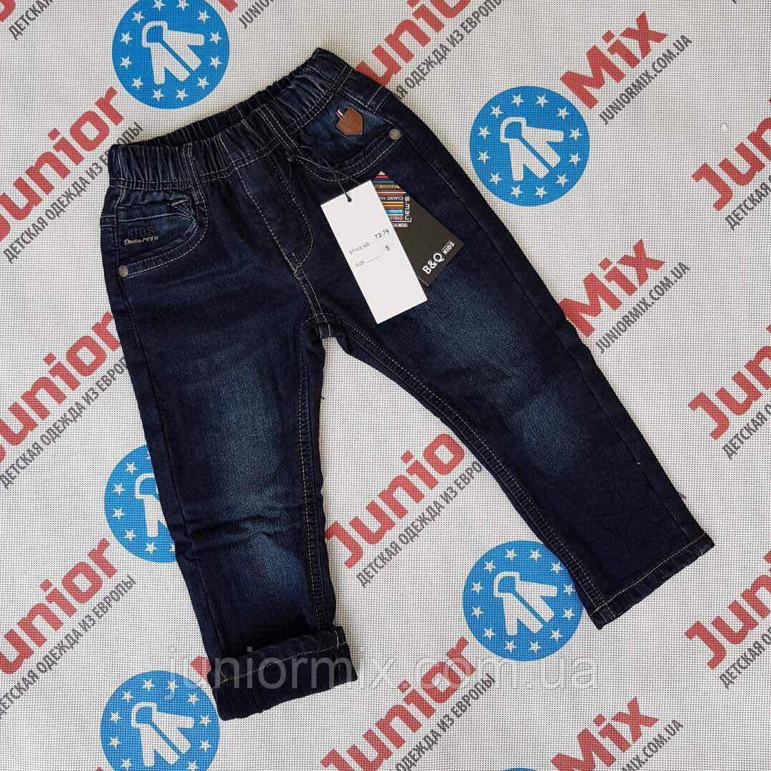Детские теплые джинсы для мальчиков оптом B&Q
