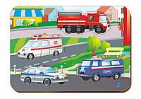 Деревянный вкладыш «Спец.автомобили»