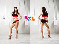 Топ и шорты VIA Classic для занятий pole dance, фитнесом и в тренажерном зале