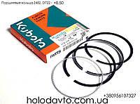 Кольца поршневые 0.25 Kubota D722 / Z482 ; 25-34381-05, фото 1