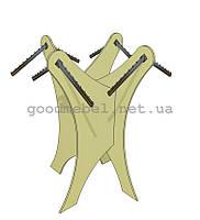 Стеллаж (вешало) стойка для одежды 06-19
