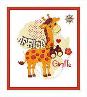 """Набор для вышивания крестом ВТ-172 """"Детский мир. Африка"""" Crystal Art"""