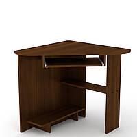 Стол письменный СУ-15 орех экко Компанит (76х76х74 см), фото 1