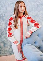 Підліткове плаття вишите Стильне (9-10 і 10-12 років) a9023712225f9