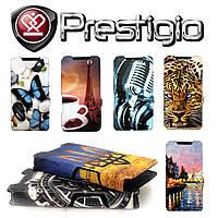 Чехол-книжка Ultra-Book Print для Prestigio 3508 Wize P3