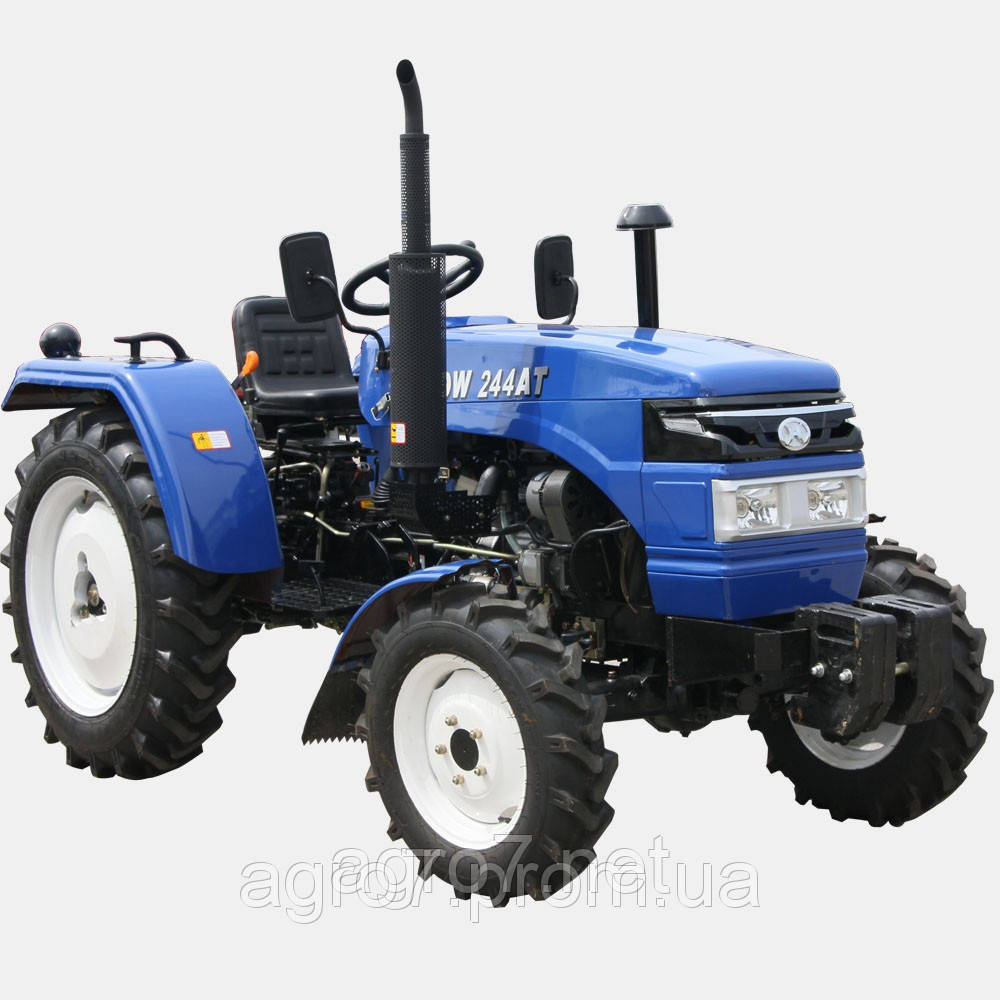 Трактор с доставкой DW 244ATM(3 цил., 4х4, 24л.с., розетка)
