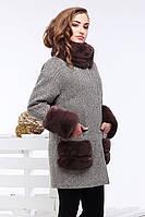Женское шерстяное пальто Кейлин, размеры 42,44,46,48,50