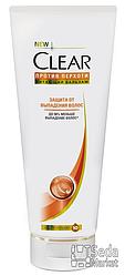 Бальзам-ополаскиватель Clear Защита от выпадения волос 180мл